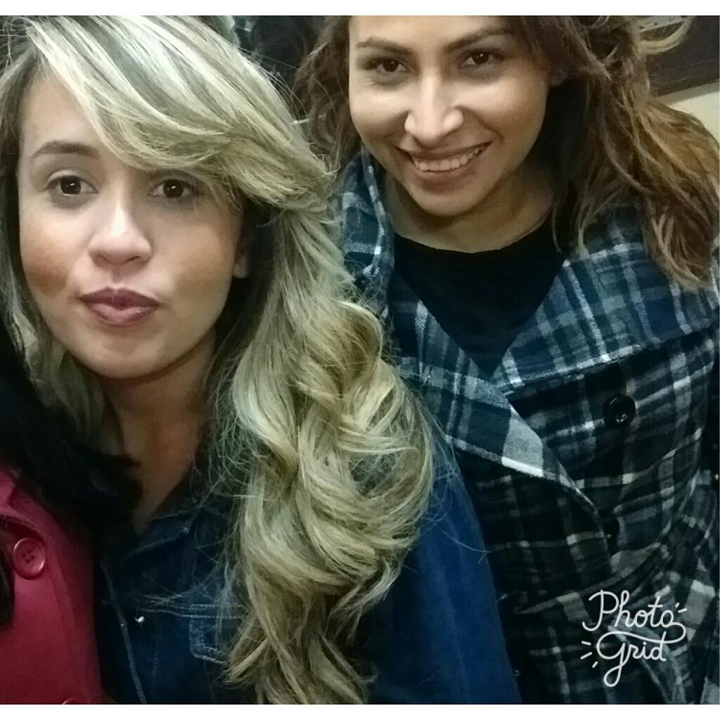Minha loira    😍😍 Amei fazer essa mudança nessa linda amiga @silmaramota cabelo cabeleireiro(a)