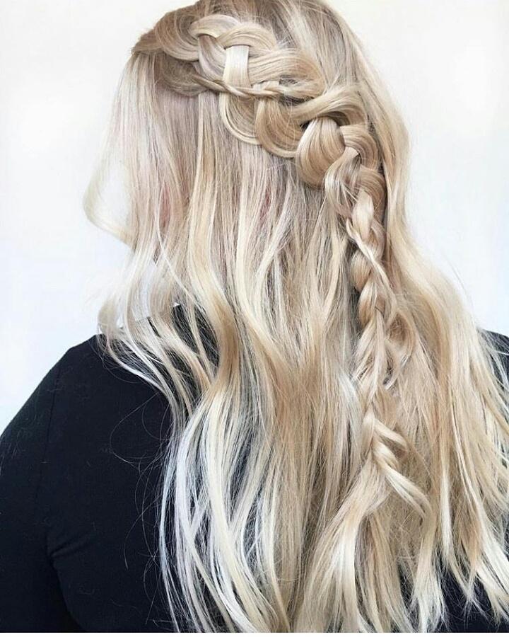 Pq eu amo o que eu faço ❤ #tranças  #penteado #segredosdesalao  cabelo cabeleireiro(a)