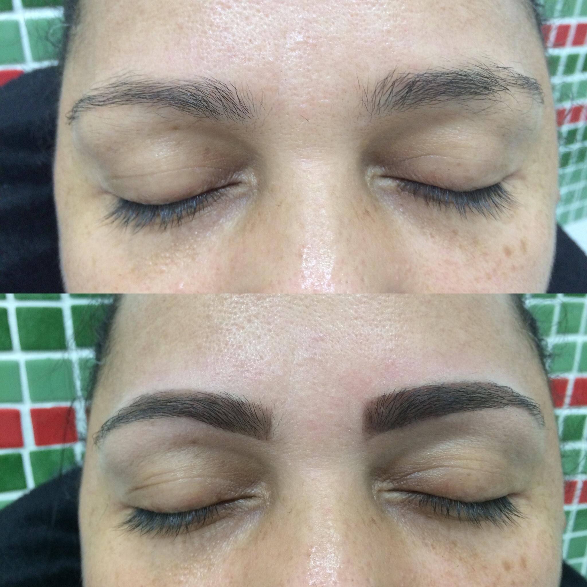 Design de Sobrancelha + Henna. outros esteticista maquiador(a) designer de sobrancelhas manicure e pedicure