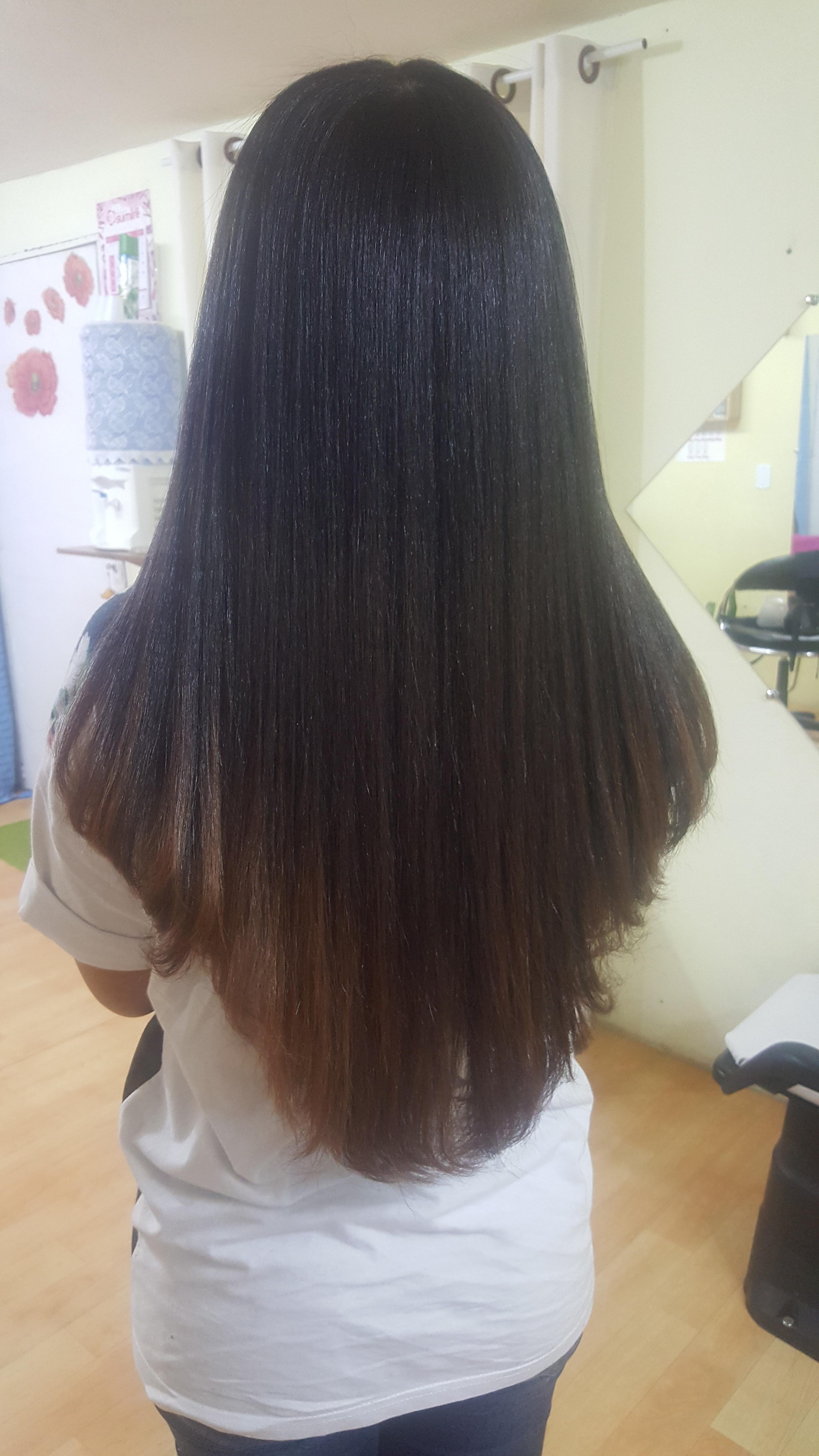 Hidratação de reconstrução + Escova+ Corte Degradê sem repicar cabeleireiro(a) manicure e pedicure micropigmentador(a)