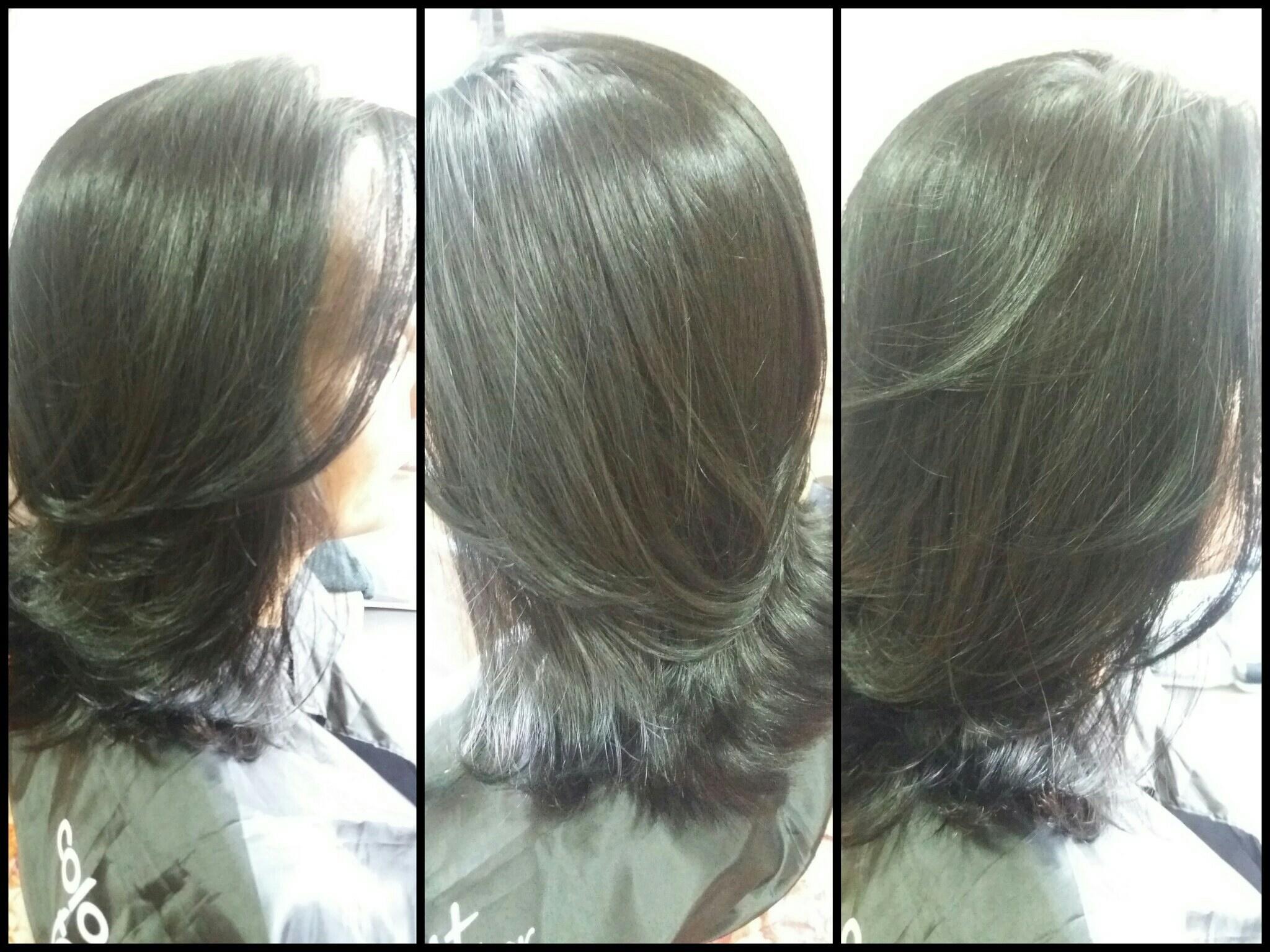 Cor e escova  cabelo cabeleireiro(a) designer de sobrancelhas depilador(a)