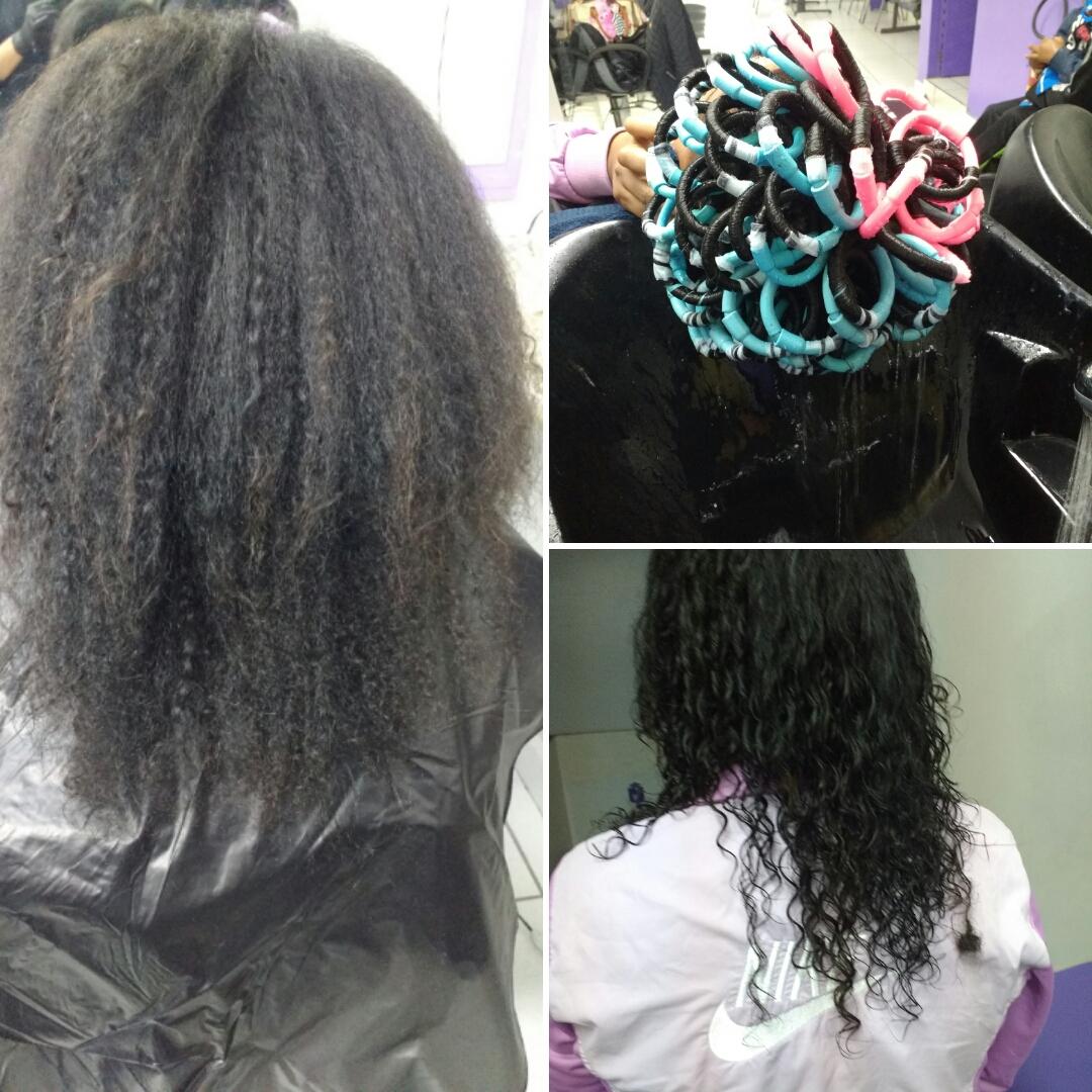 Permanente cabelo auxiliar cabeleireiro(a)