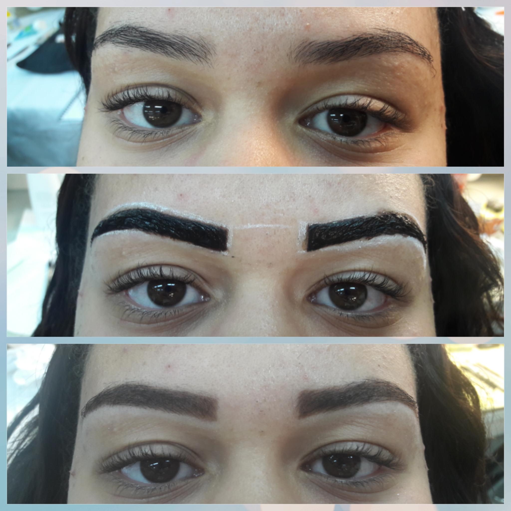 É o #DesignerDeSobrancelhas de uma amiga que fiz enquanto estava no curso.  outros designer de sobrancelhas maquiador(a) recepcionista