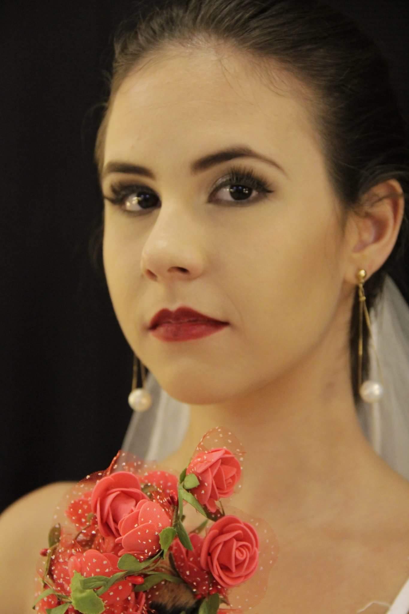 Maquiagem noiva noite maquiagem maquiador(a)
