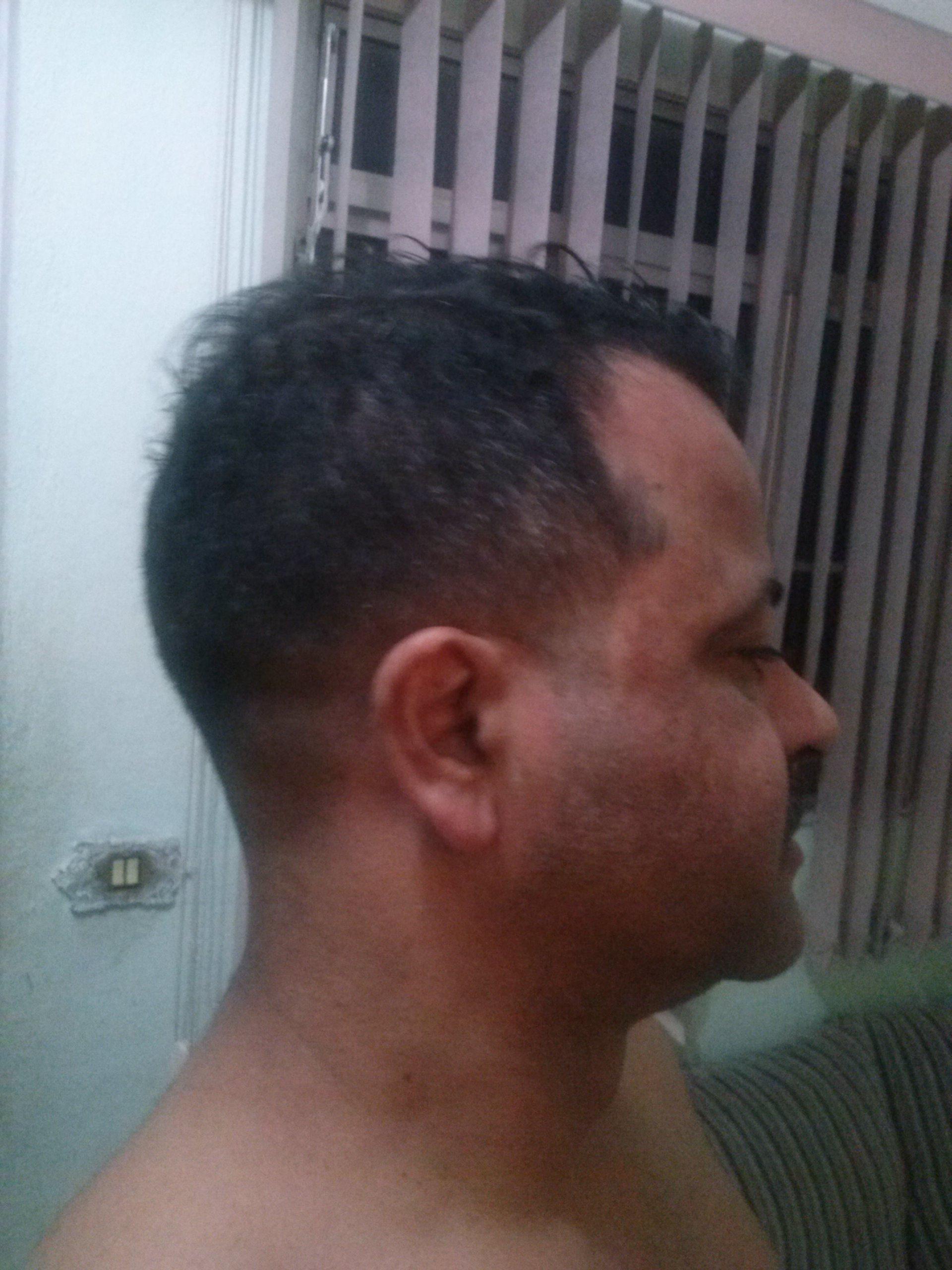 Fade clássico   cabelo barbeiro(a)