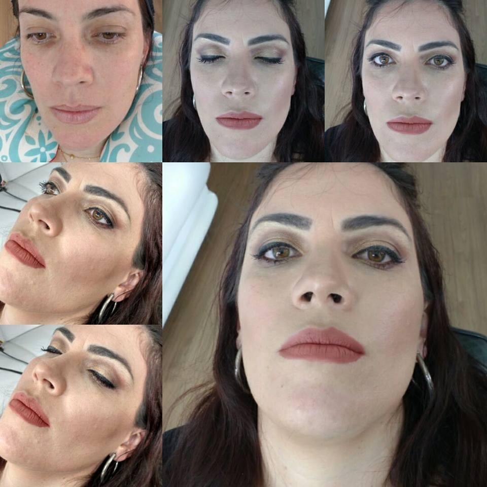 Maquiagem Nude maquiagem depilador(a) designer de sobrancelhas