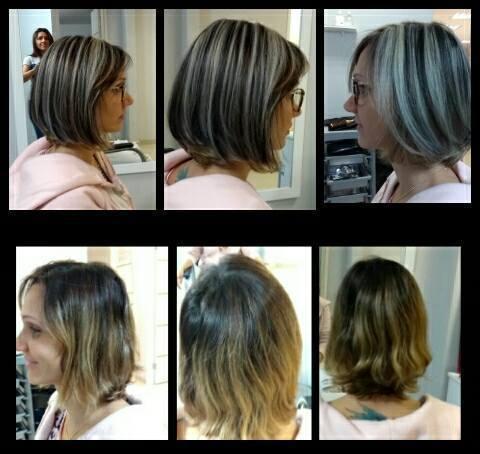 Trabalho de  Mechas invertida  Pó descolorante ox 3% + ox 6 % + coloração 5.0  #mechasinvertidas #coloração #riodejaneiro #méier #amomeutrabalho cabelo cabeleireiro(a) maquiador(a) empresário(a)