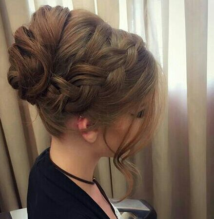 #penteado #madrinha cabelo cabeleireiro(a) designer de sobrancelhas