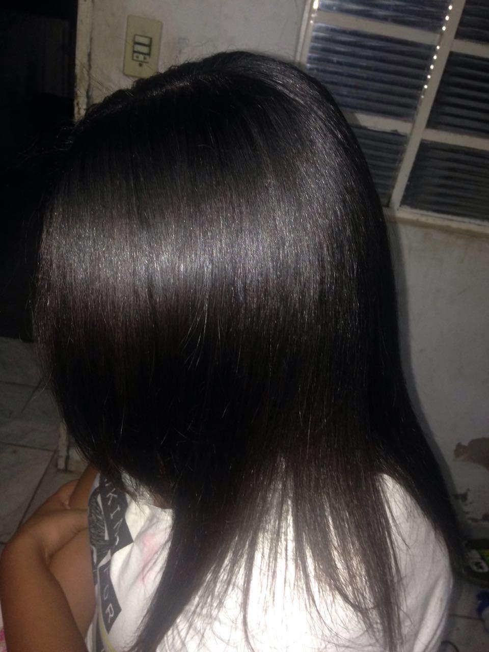 #Toda Mulher e uma rainha  #Depois Progressiva+Hidratação cabelo auxiliar cabeleireiro(a) cabeleireiro(a)