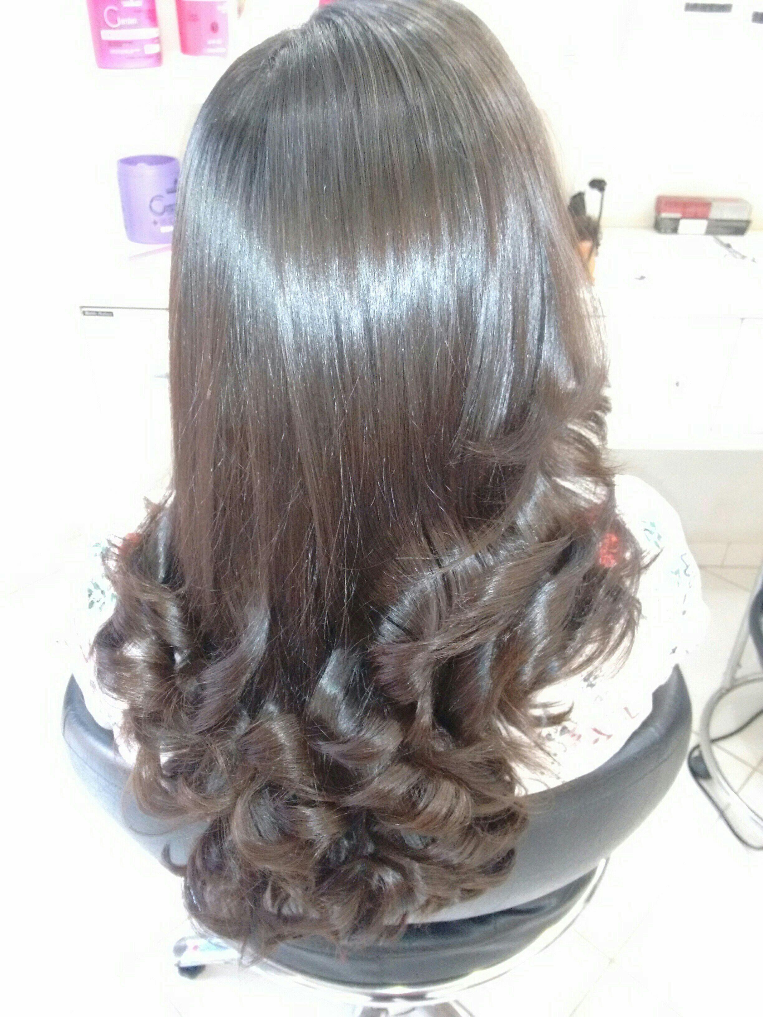 Escova modeladora cabelo cabeleireiro(a) cabeleireiro(a)