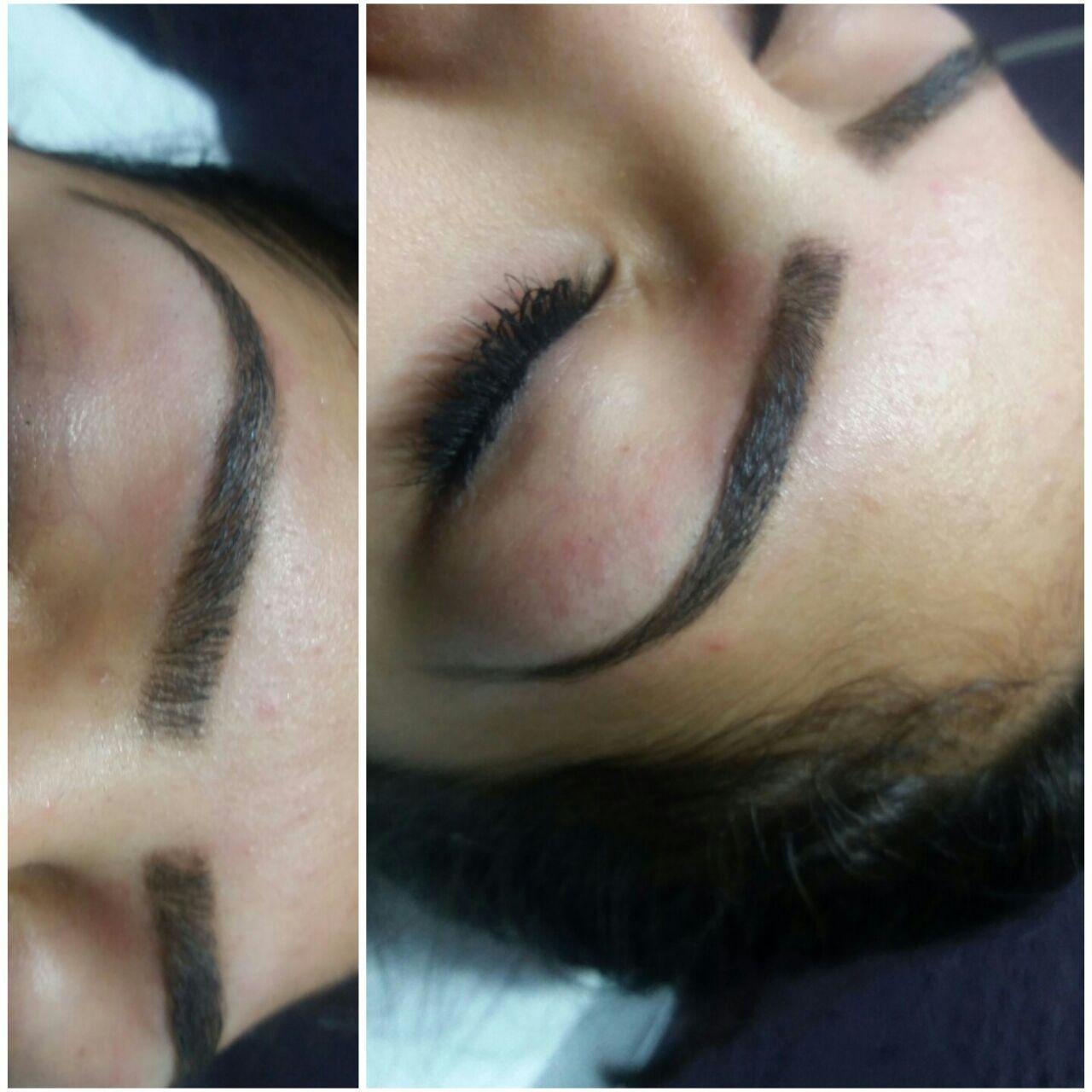 Esse um designers de sobrancelhas feito por mim!! depilador(a) designer de sobrancelhas esteticista