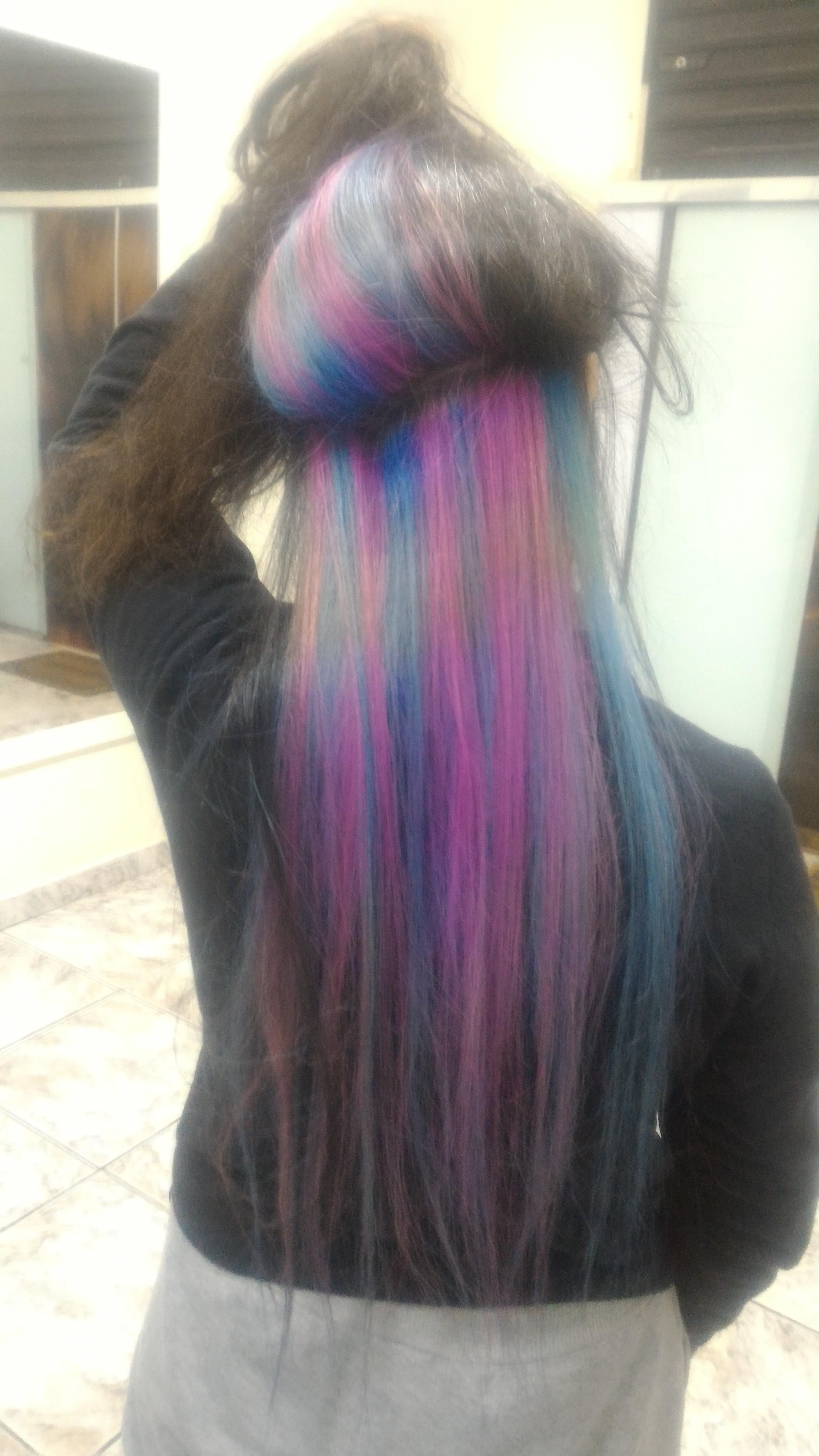 Cor fantasias 😍 cabelo auxiliar cabeleireiro(a) escovista recepcionista