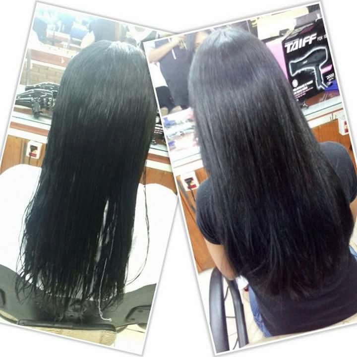 Reeconstrução dos fios feio por mim  cabelo auxiliar cabeleireiro(a)