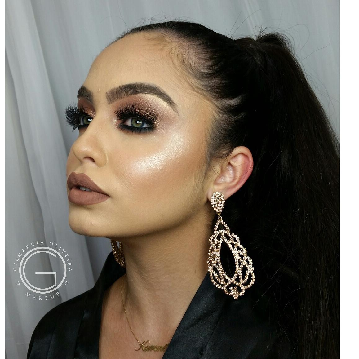 Make glam !!❤❤❤ #makeupbrasil #maccosmeticsbrasil #atelierparis #mundodamaquiagem #loucaspormaquiagem #inglot #contem1g #thebalm #daymakeup #maisvaidosa #tartelette #eudora #tutorialmakeup #makeup  maquiagem