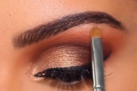 Maquiagem para o aniversário da cliente Luiza maquiagem