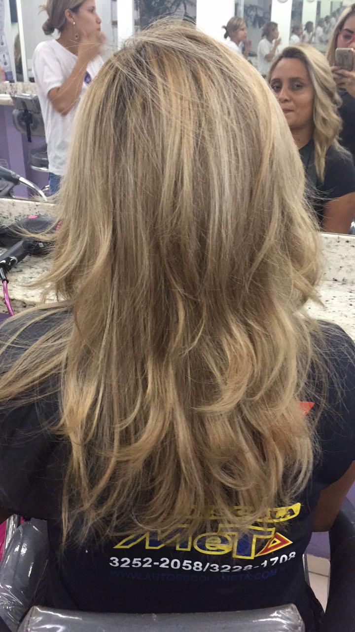 Correção de cor  cabelo