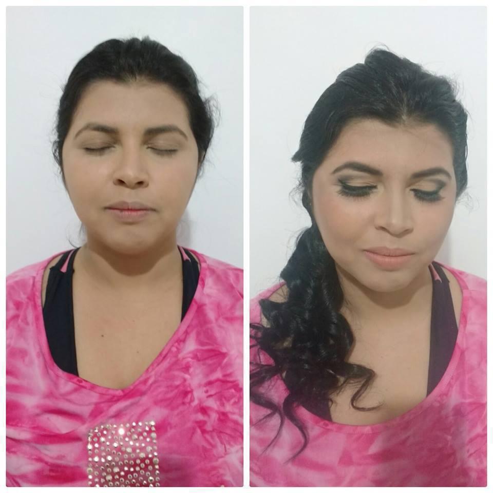 Make Básica com muito Glamour maquiagem maquiador(a)