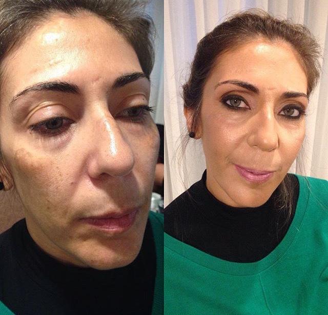 #maquiagem #makeup #beauty #mua #antesedepois #kryolan maquiagem maquiador(a)