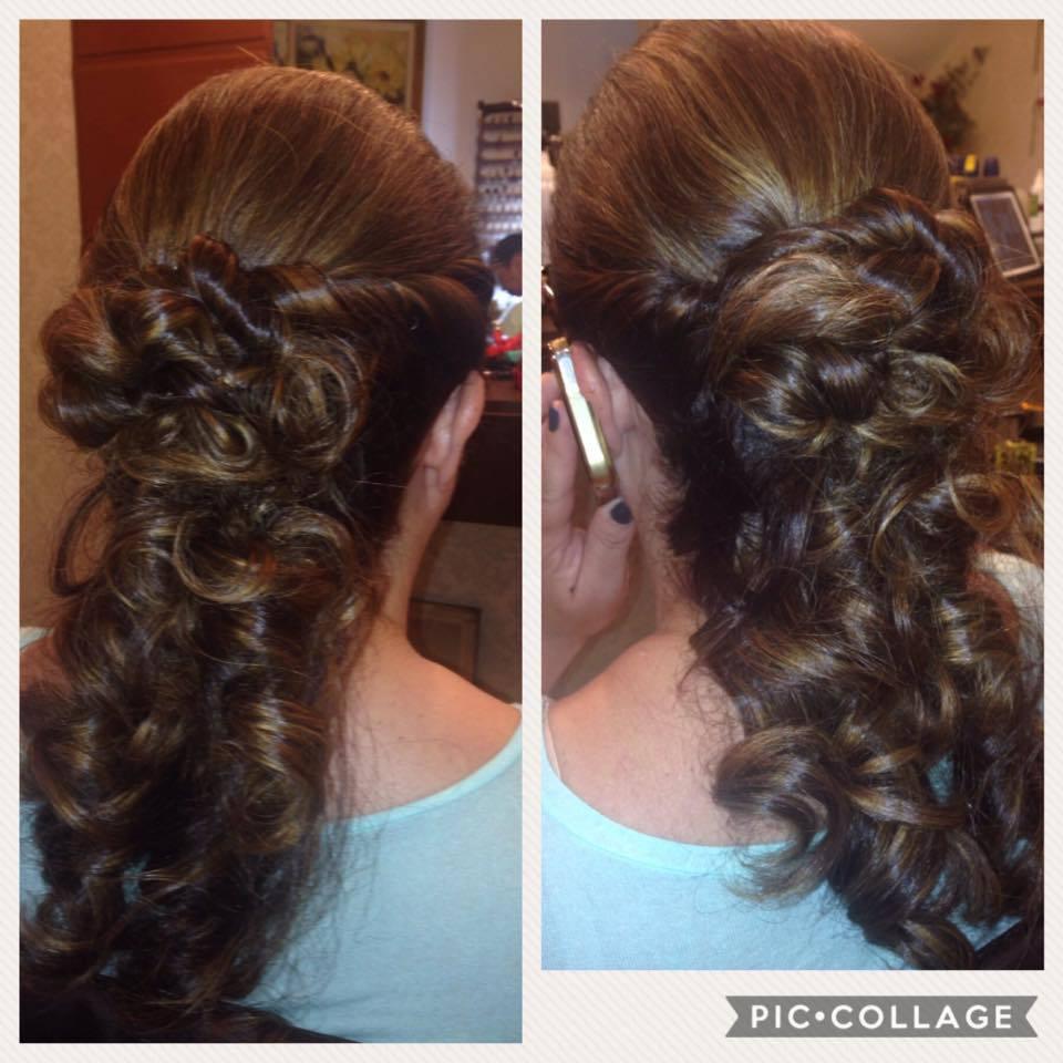 Penteado madrinha cabelo cabeleireiro(a)
