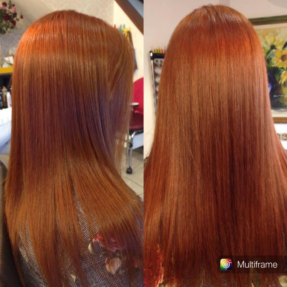 Coloração e escova cabelo cabeleireiro(a)
