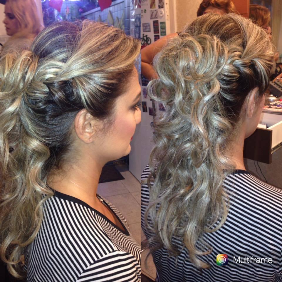 Penteado casamento cabelo cabeleireiro(a)