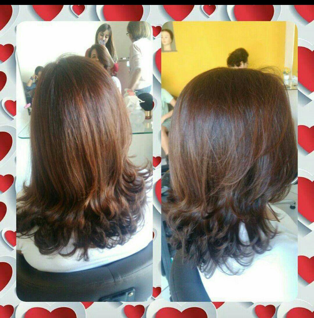 Escova modelada cabelo auxiliar cabeleireiro(a) escovista manicure e pedicure
