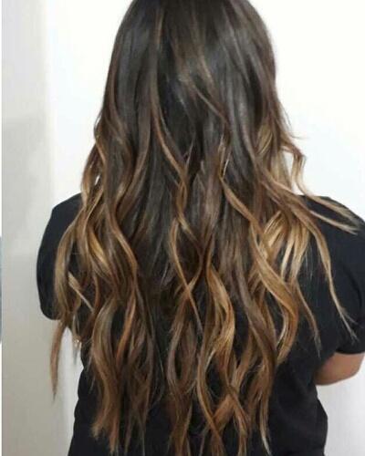 Paixonada por morenas iluminada  #morenailuminada #haircolorist cabelo cabeleireiro(a) cabeleireiro(a)