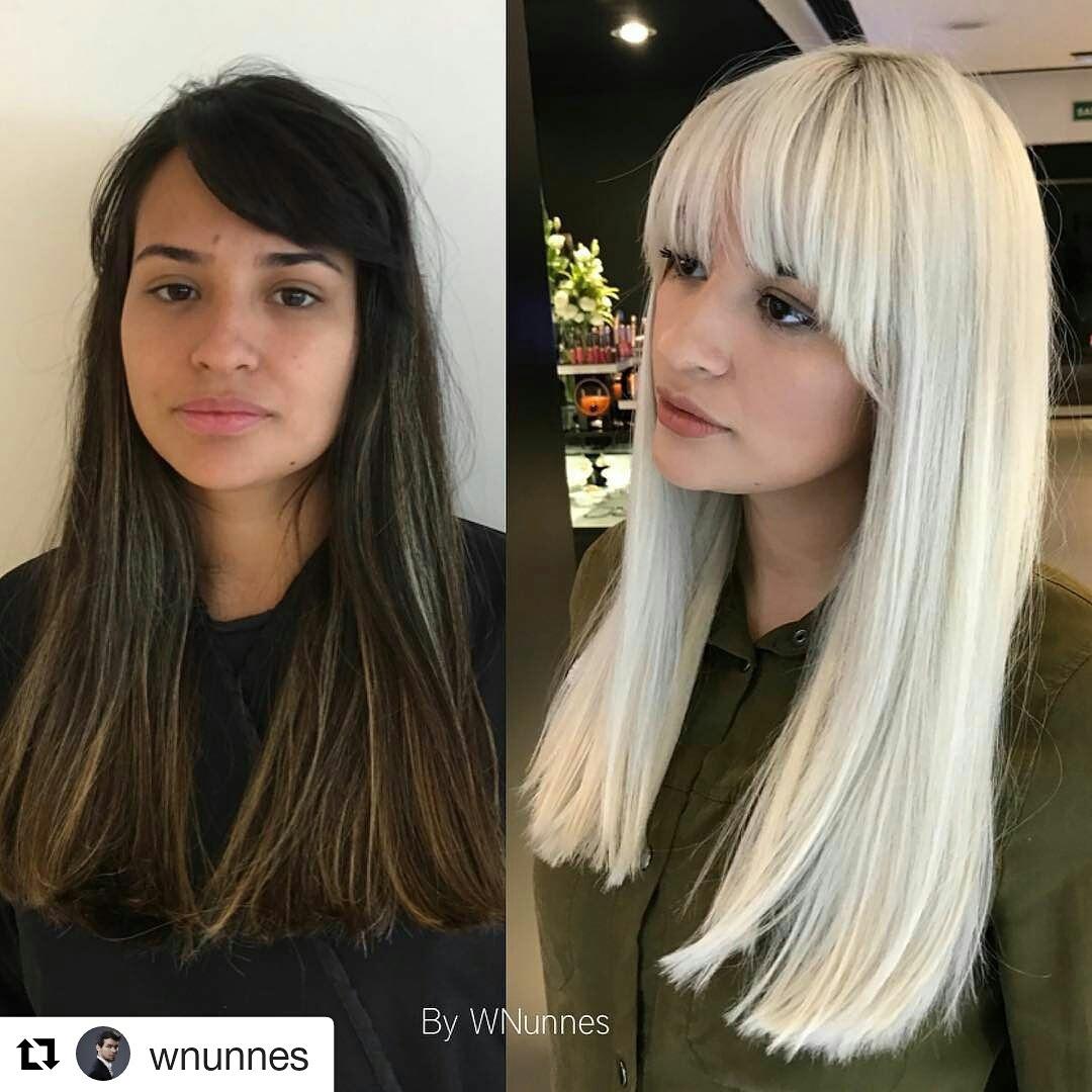 Mudar é necessário, radicalizar para as corajosas, este hair foi feito com minha colaboração quando trabalhava no salão MG Hair Design.  #Amocor #totalblond #colorista cabelo cabeleireiro(a) cabeleireiro(a)