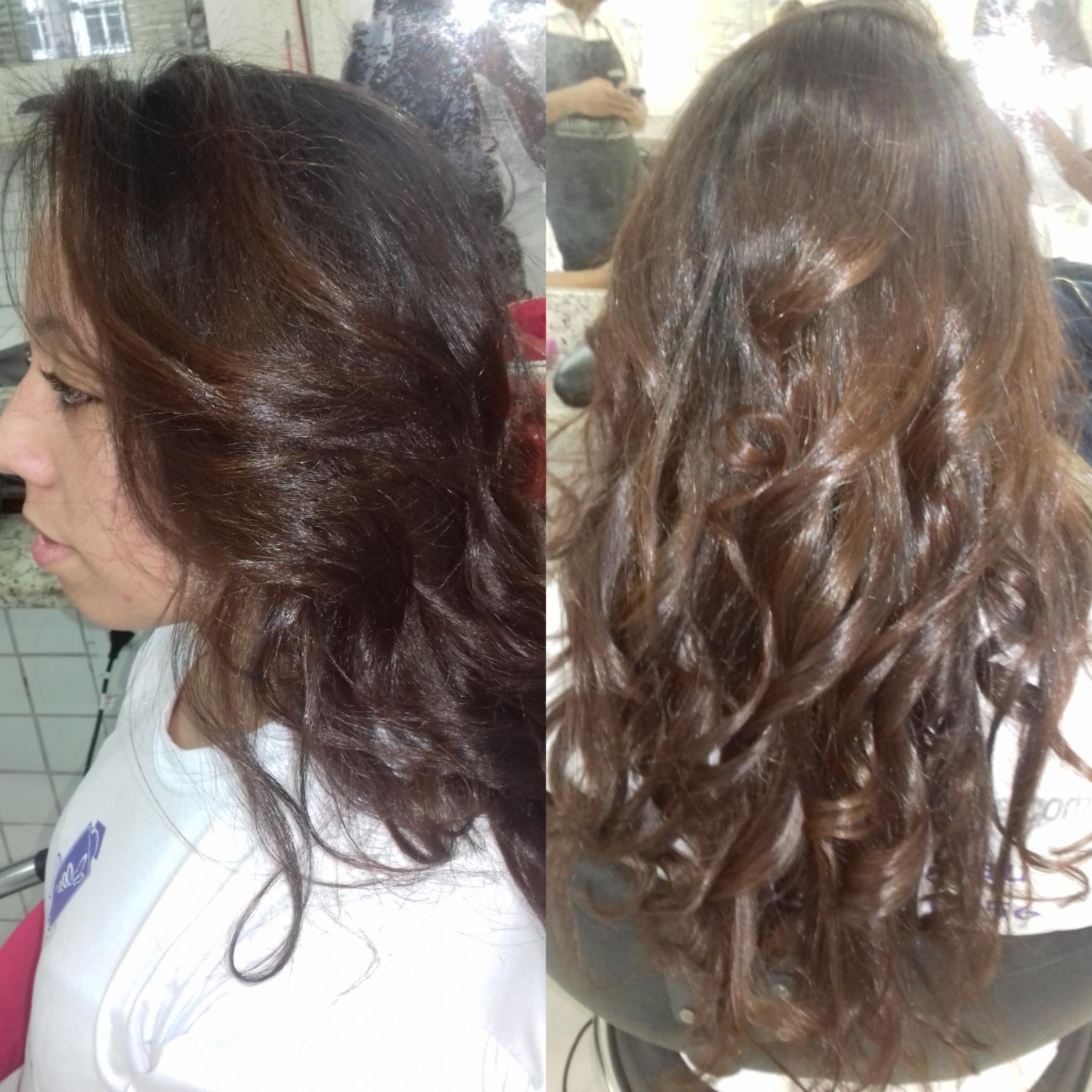 #Escova  cabelo estudante (cabeleireiro) auxiliar cabeleireiro(a) designer de sobrancelhas