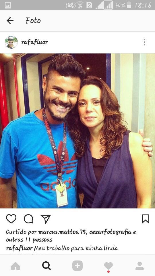 Meu trabalho na rede Globo  maquiagem maquiador(a)