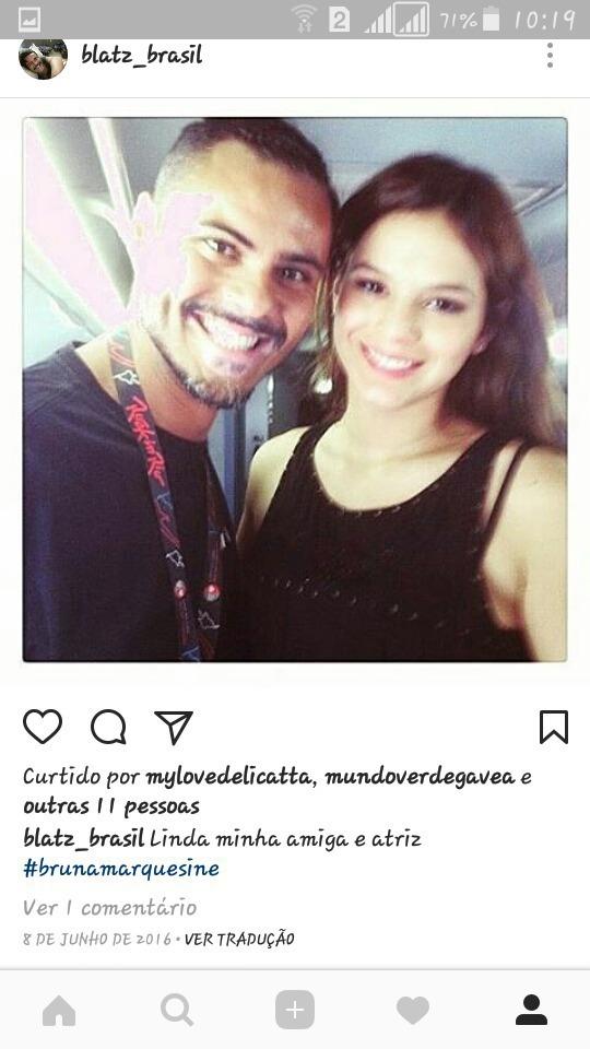 Meu trabalho de MAKEUP para Bruna Marquezine na rede Globo  maquiagem maquiador(a)