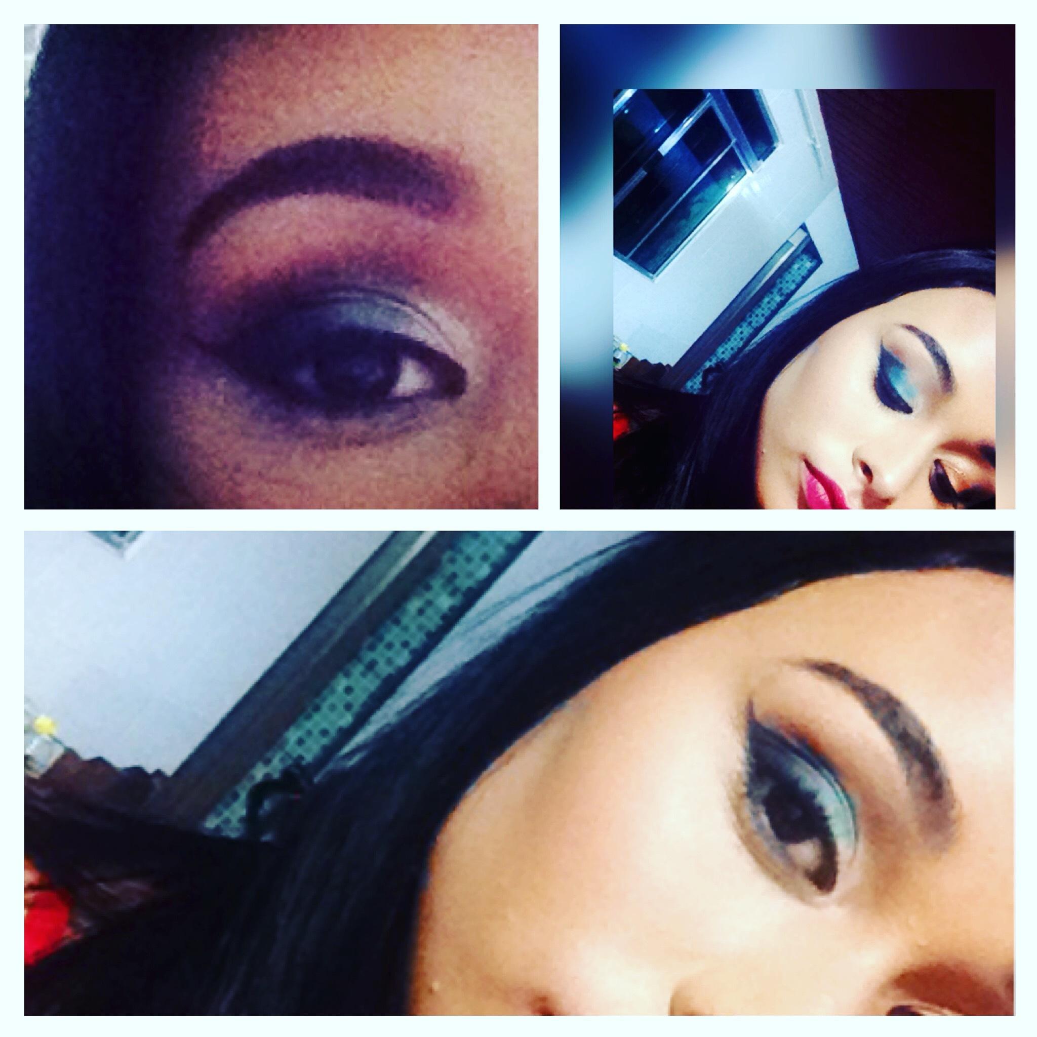 #makeAzul #love #makeup maquiagem maquiador(a)