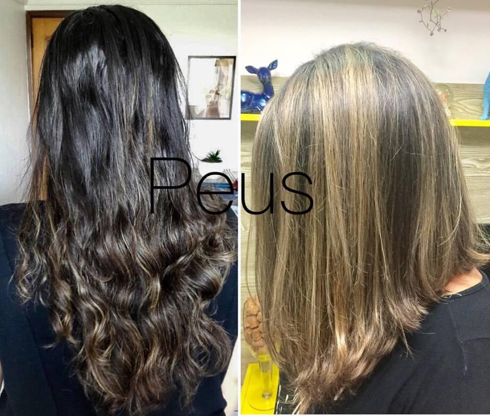 #longbob @mechas cabelo auxiliar cabeleireiro(a)