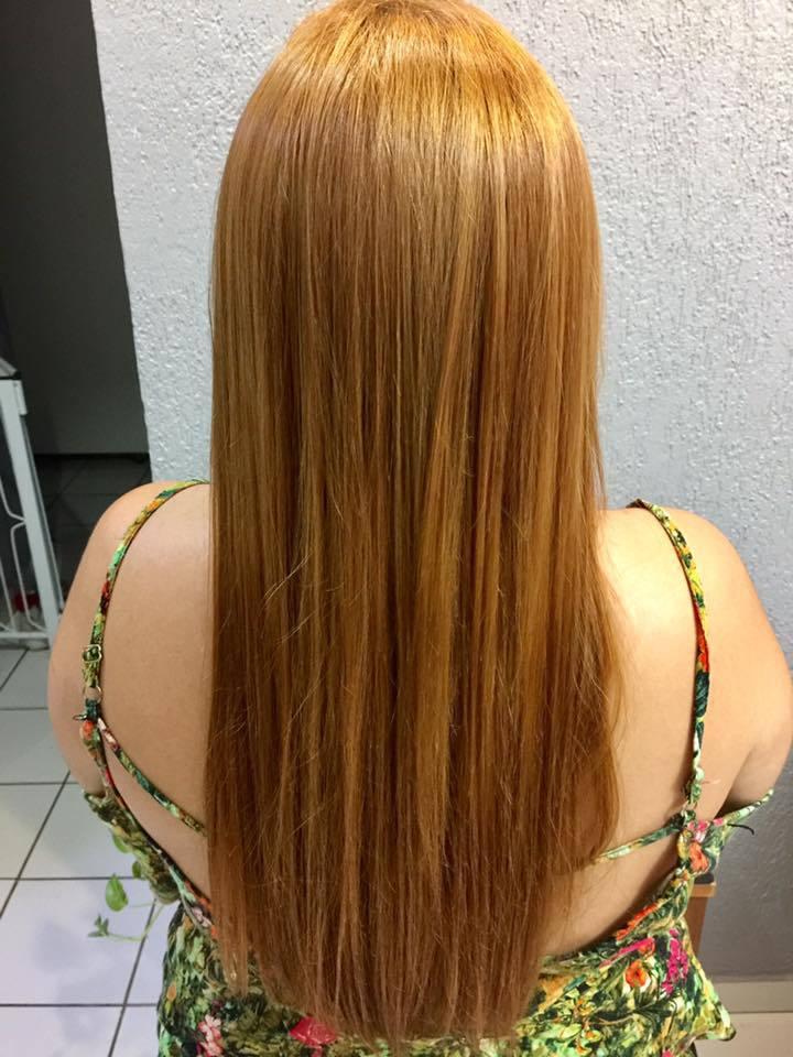 #cobre #progressiva cabelo auxiliar cabeleireiro(a)