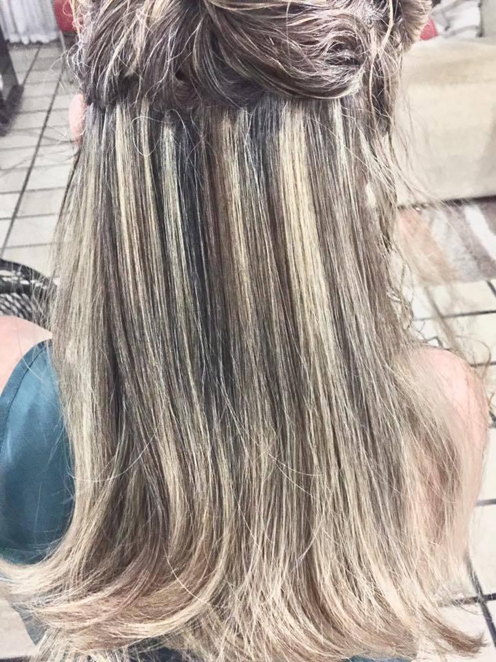 #mechas cabelo auxiliar cabeleireiro(a)