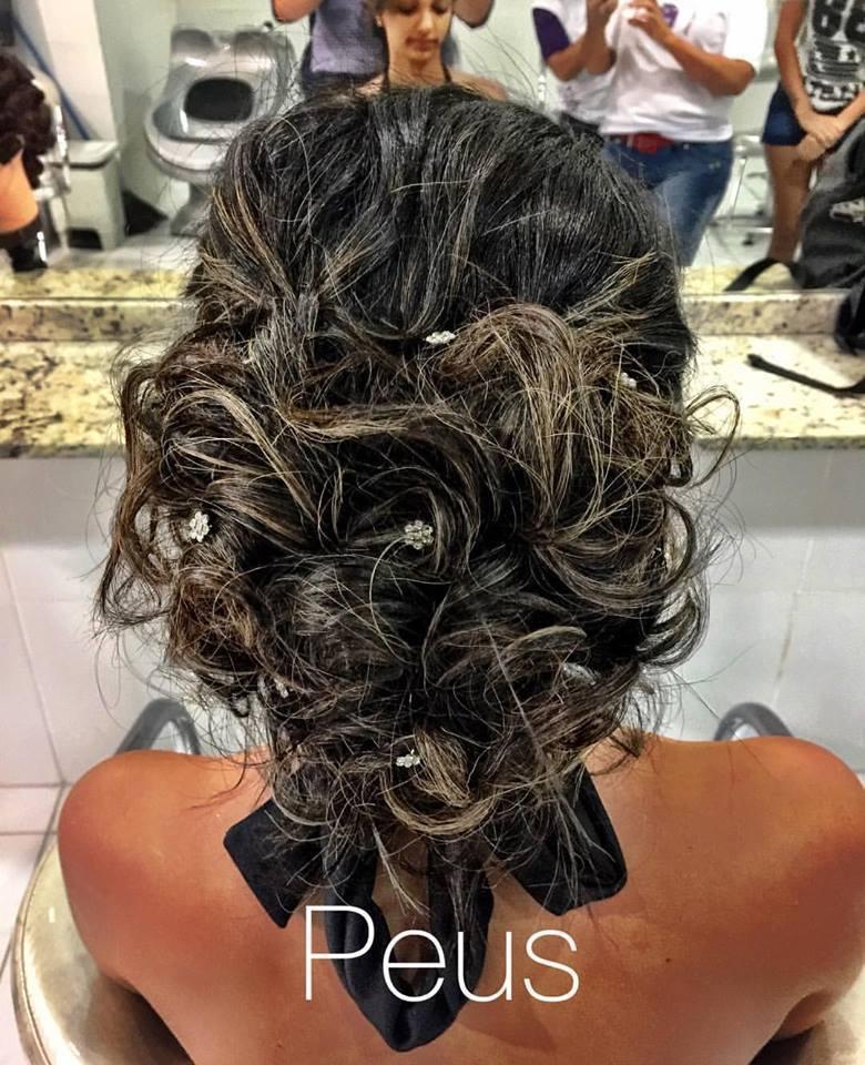 #penteado cabelo auxiliar cabeleireiro(a)