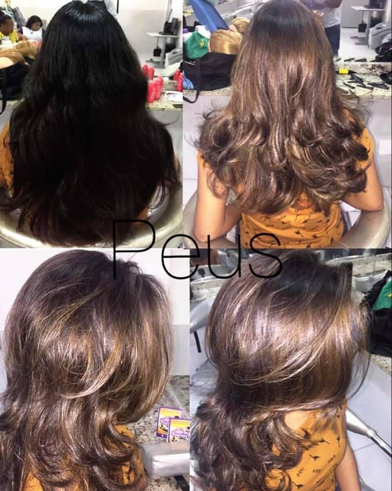 Retirando o Preto #mechas #corte cabelo auxiliar cabeleireiro(a)