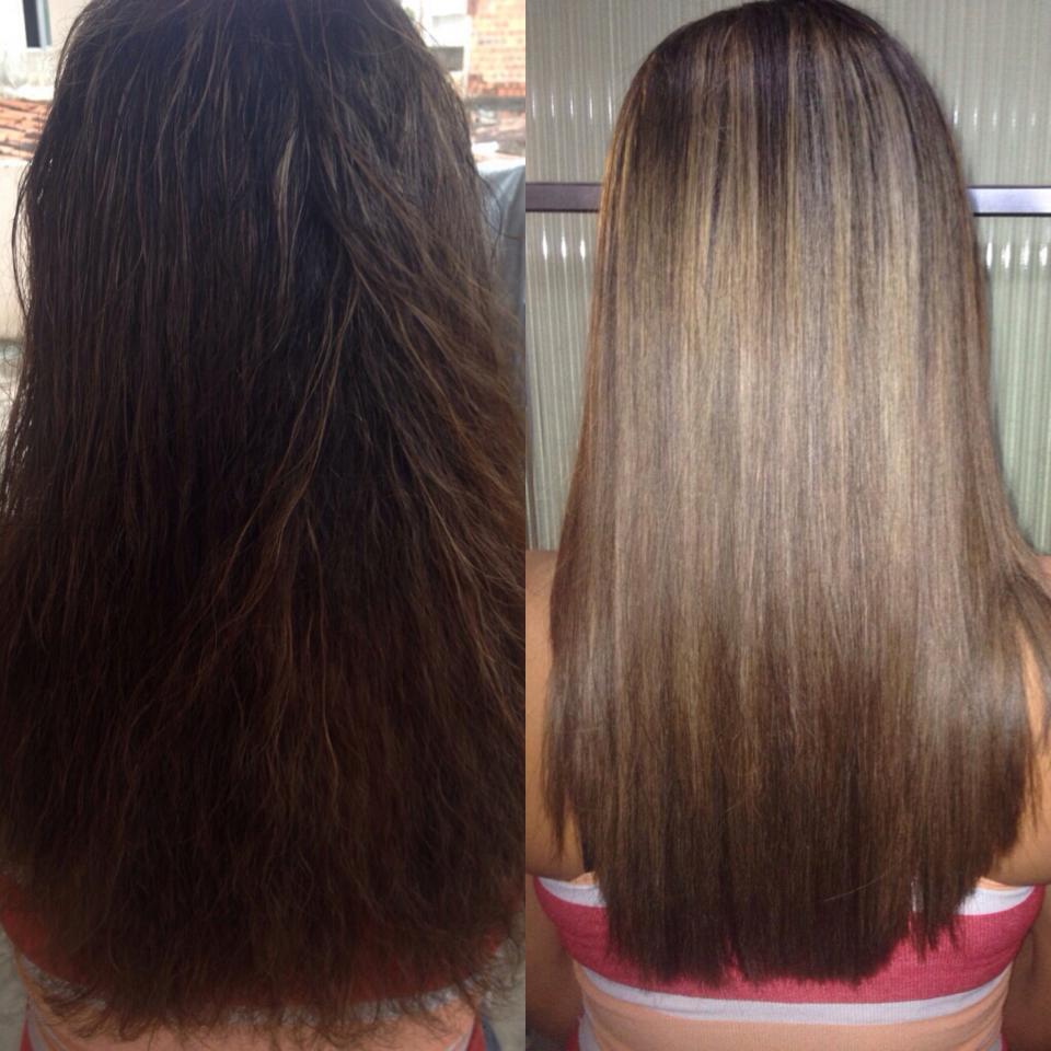 #botox  e #mechasmel cabelo auxiliar cabeleireiro(a)