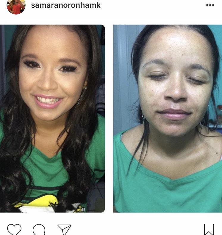 Makeup social para a querida Taci, celebrar mais uma primavera.  maquiagem maquiador(a) cabeleireiro(a)
