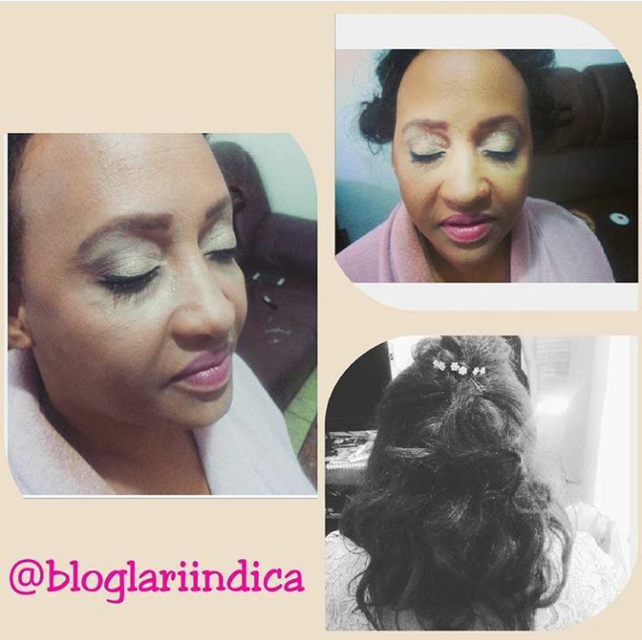 Maquiagem simples  para casamento durante o dia + penteado  maquiagem esteticista assistente esteticista estudante (esteticista)