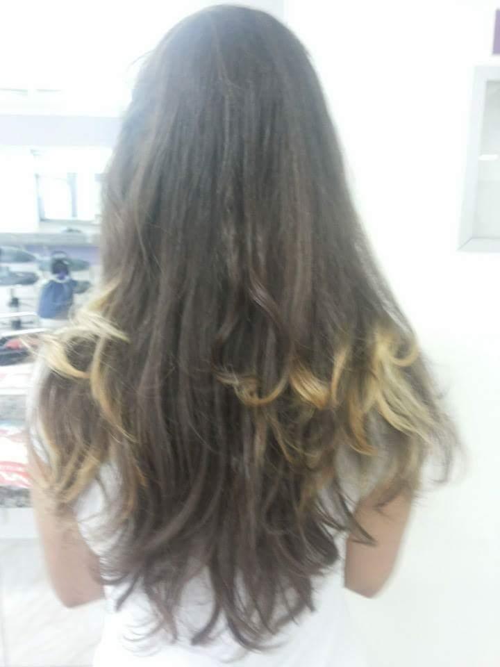 Escova Lisa + Prancha  cabelo esteticista assistente esteticista estudante (esteticista)