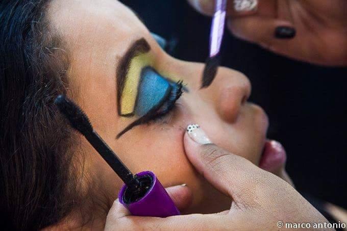 Maquiagem para Eventos  como; Desfiles e para festas infantis. maquiagem esteticista assistente esteticista estudante (esteticista)