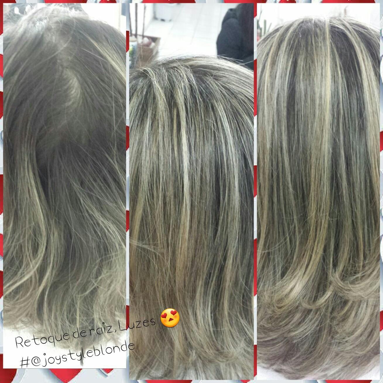 #retoque de raiz. Luzes. cabelo cabeleireiro(a) manicure e pedicure designer de sobrancelhas