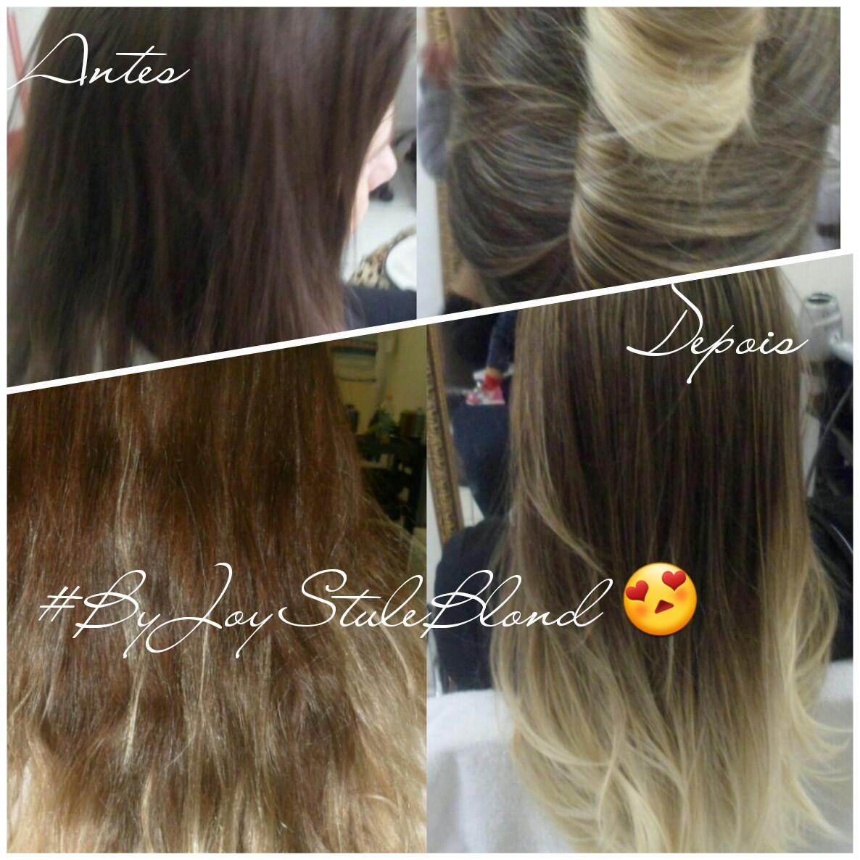 Luzes +ombré 😍 cabelo cabeleireiro(a) manicure e pedicure designer de sobrancelhas