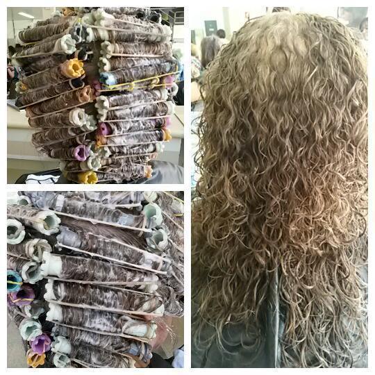 Corte selvagem e permanente. cabelo auxiliar cabeleireiro(a)