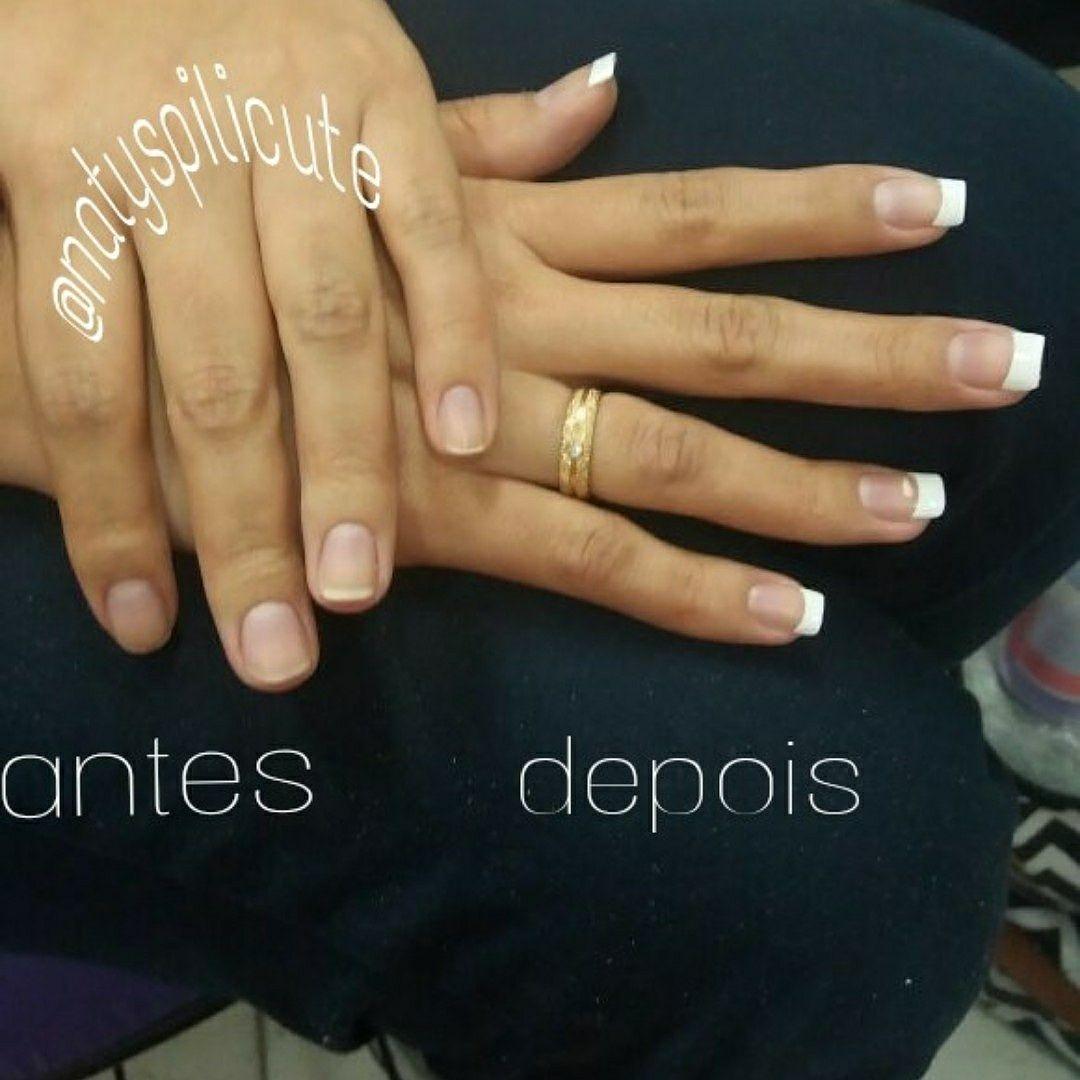 Alongamento Francesinha definitiva Nova York ❤️❤️ unha manicure e pedicure designer de sobrancelhas estudante (maquiador) estudante (designer sobrancelha)