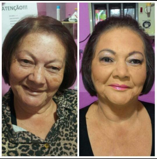 Maquiagem em Pele Madura.  #maquiagem #makeup #makes #pelemadura #maquiadora #profissão #cliente #semmanchas #pele #madura maquiagem maquiador(a)