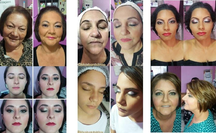 Alguns trabalhos realizados, maquiagens em pele madura e em pele de jovem de todas as idades!  #maquiagem #arte #beleza #maquiadora #amo #pele #olhos #boca #sombras #base #batom #eventos # maquiagem maquiador(a)
