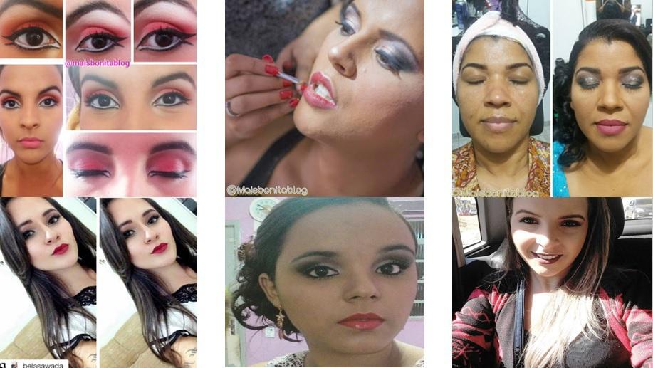 Maquiadora, profissão de envolve amor e arte!    #maquiagem #beleza #maquiadora #profissão #amo #makeup #make #pele #pelemadura #pelejovem #tonalidades #sombras #gostos #jeitos maquiagem maquiador(a)