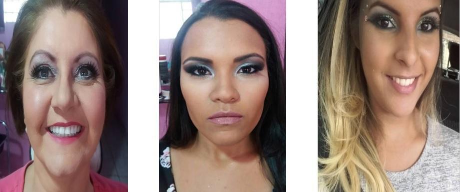 Maquiagem que muda, e realça ainda mais a beleza das clientes.   #maquiagem #beleza #maquiadora #profissão #amo #makeup #make #pele #pelemadura #pelejovem #tonalidades #sombras #gostos #jeitos maquiagem maquiador(a)